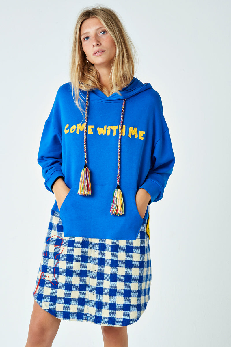 Come With Me Sweatshirt Dress