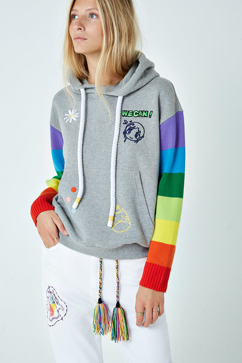 Mr. x Mira Mikati 3-D Monster Hoodie
