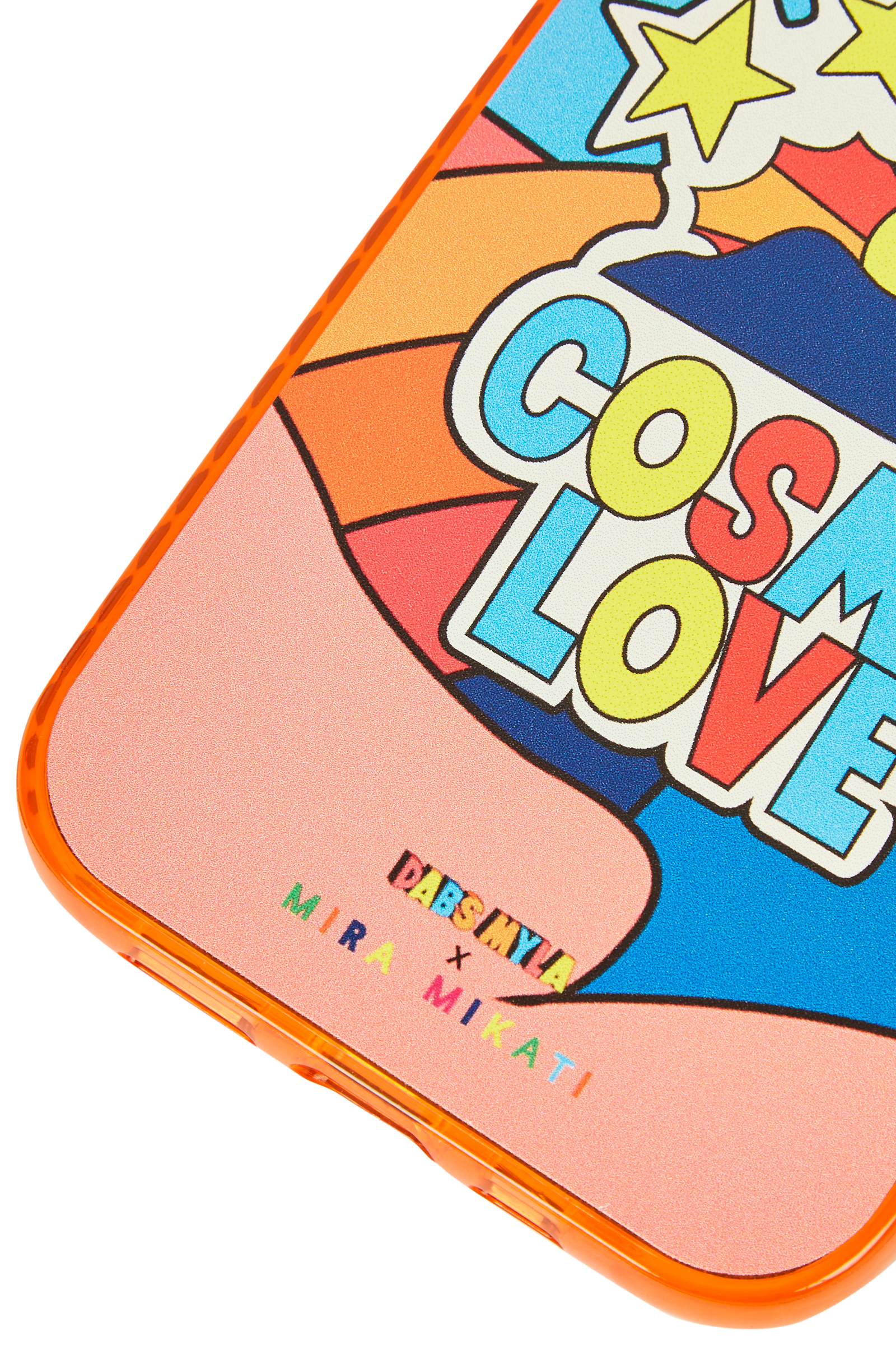 Mira Mikati x DabsMyla Iphone Case Orange Cosmic Love