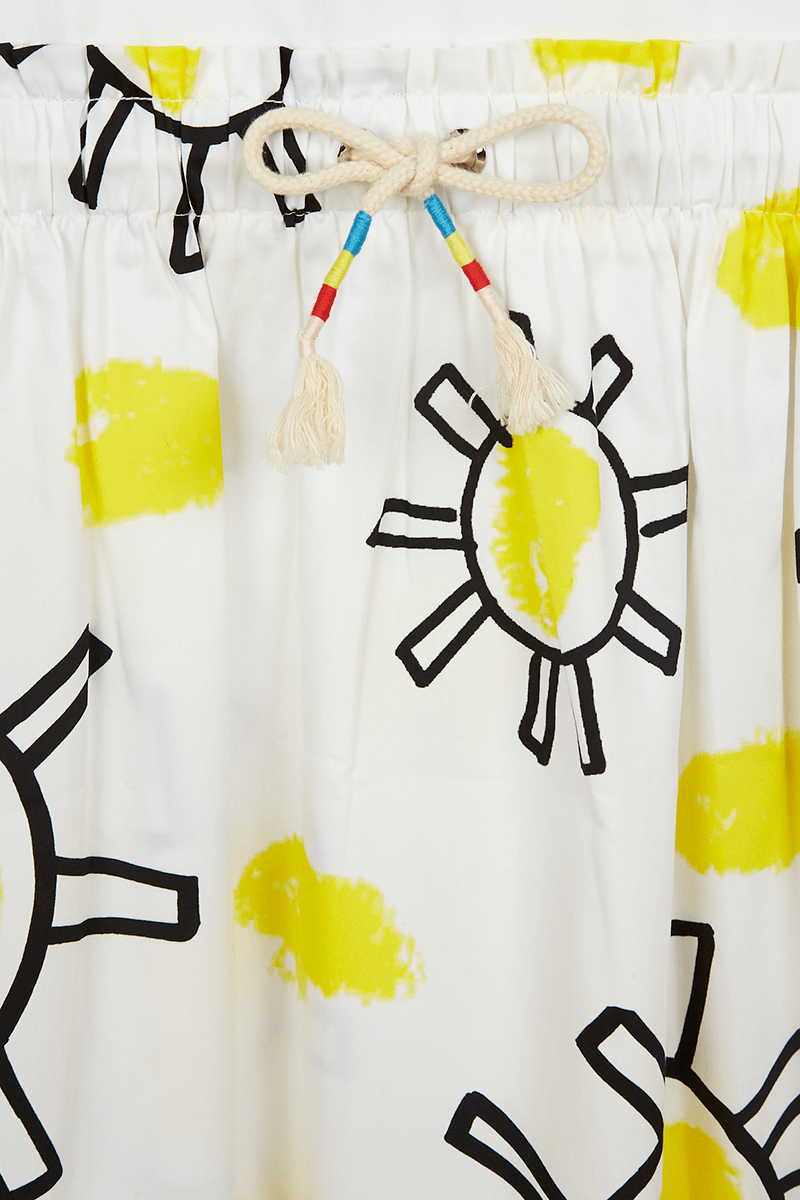 Here Comes The Sun T-Shirt Midi Dress detail