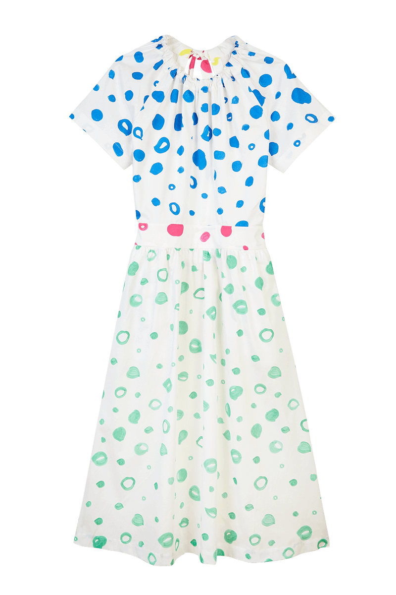 Dot Halter Dress