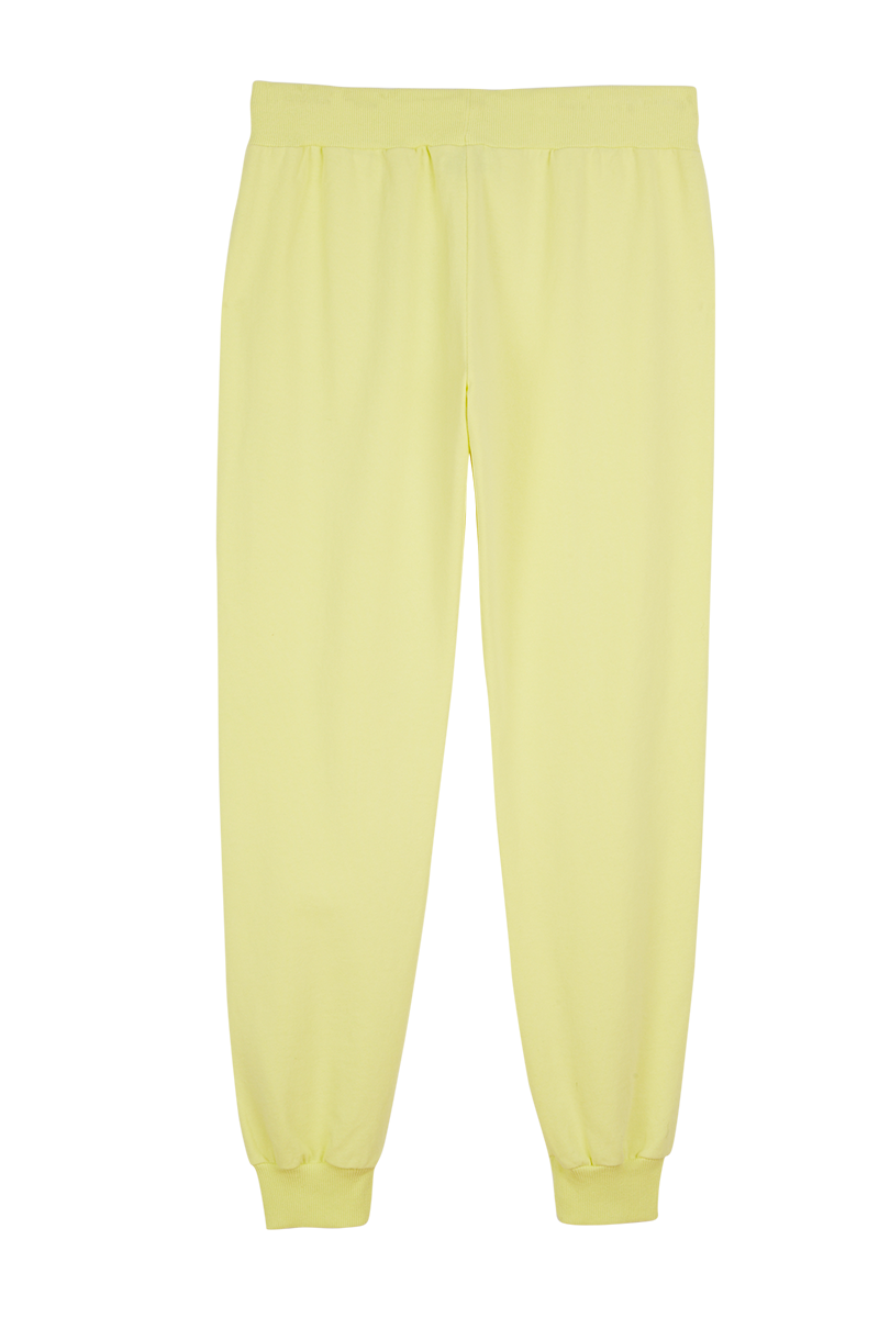 Yellow Classic Joggers