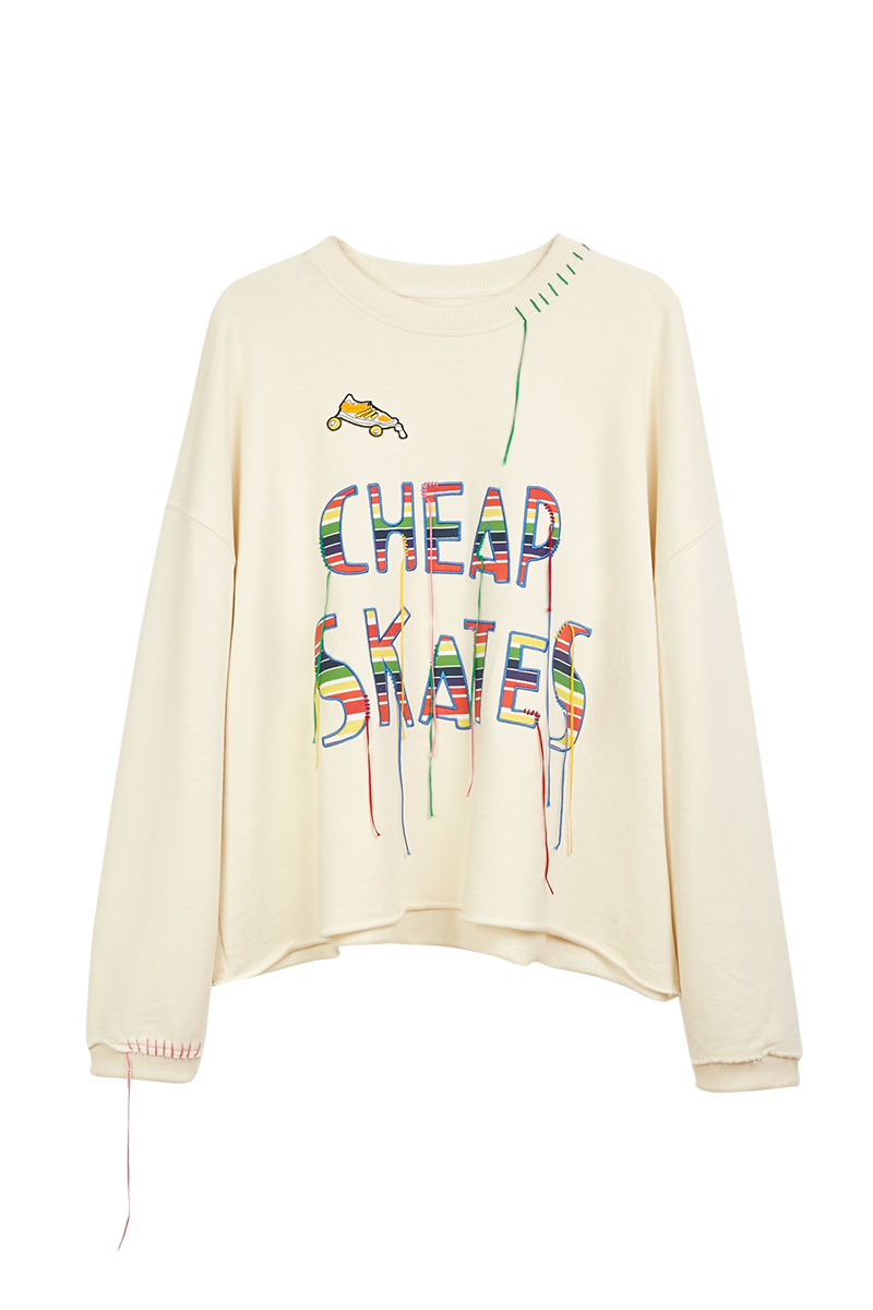Cheap Skates Embroidered Sweatshirt