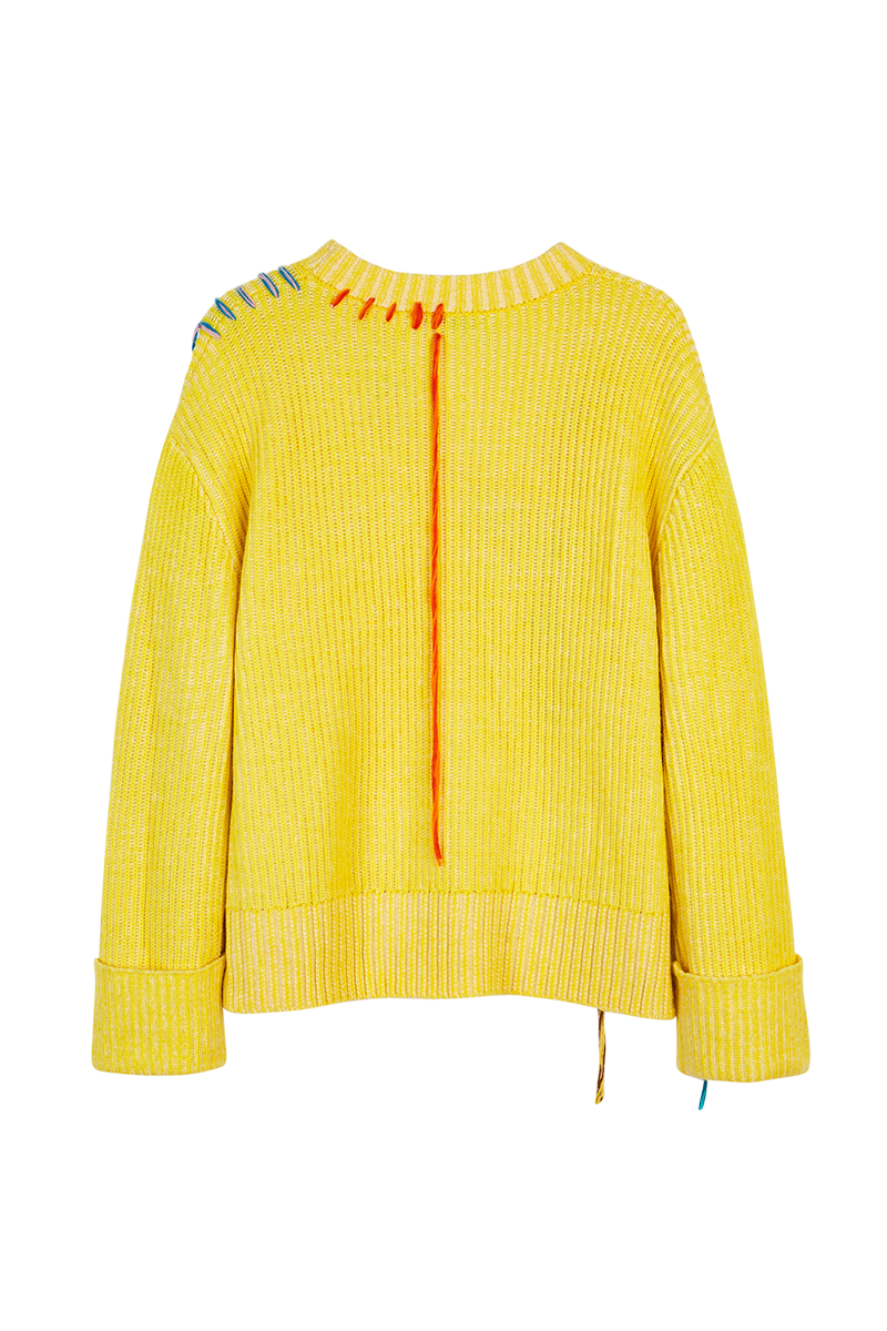 Free Embroidered Sweater