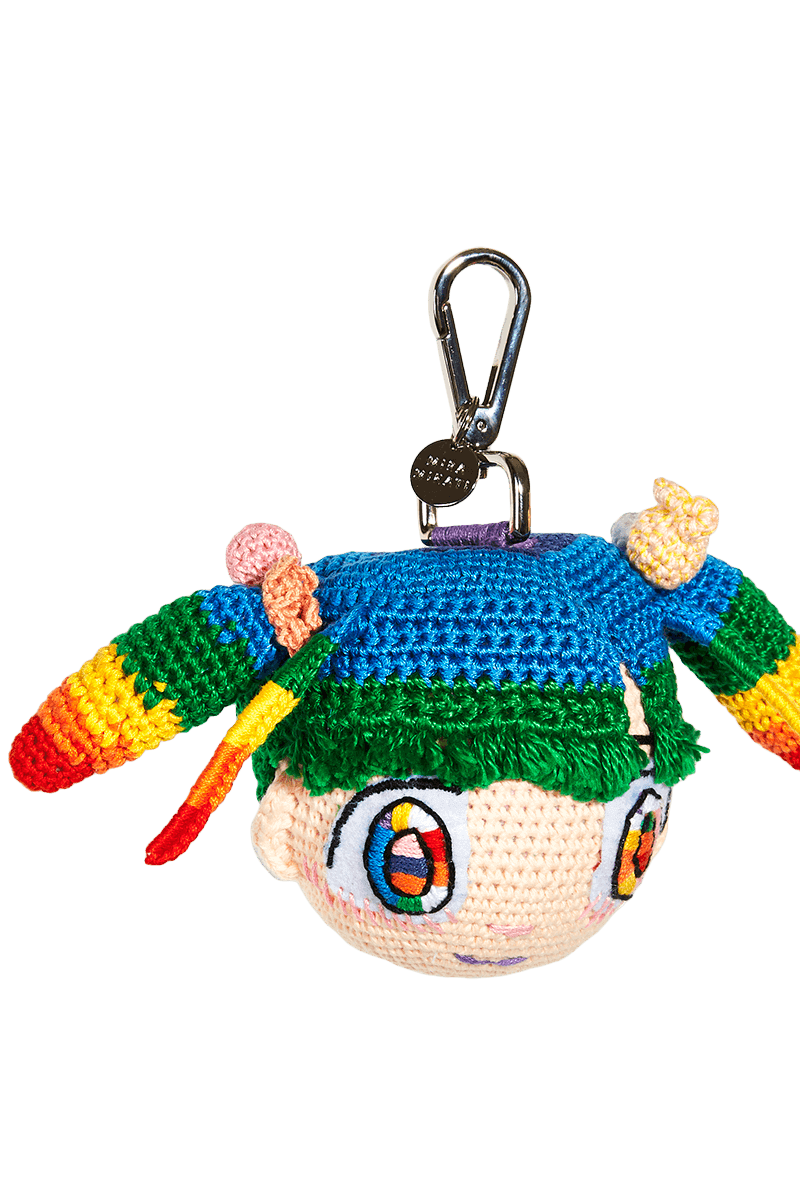 Mr. x Mira Mikati Doll Keyring