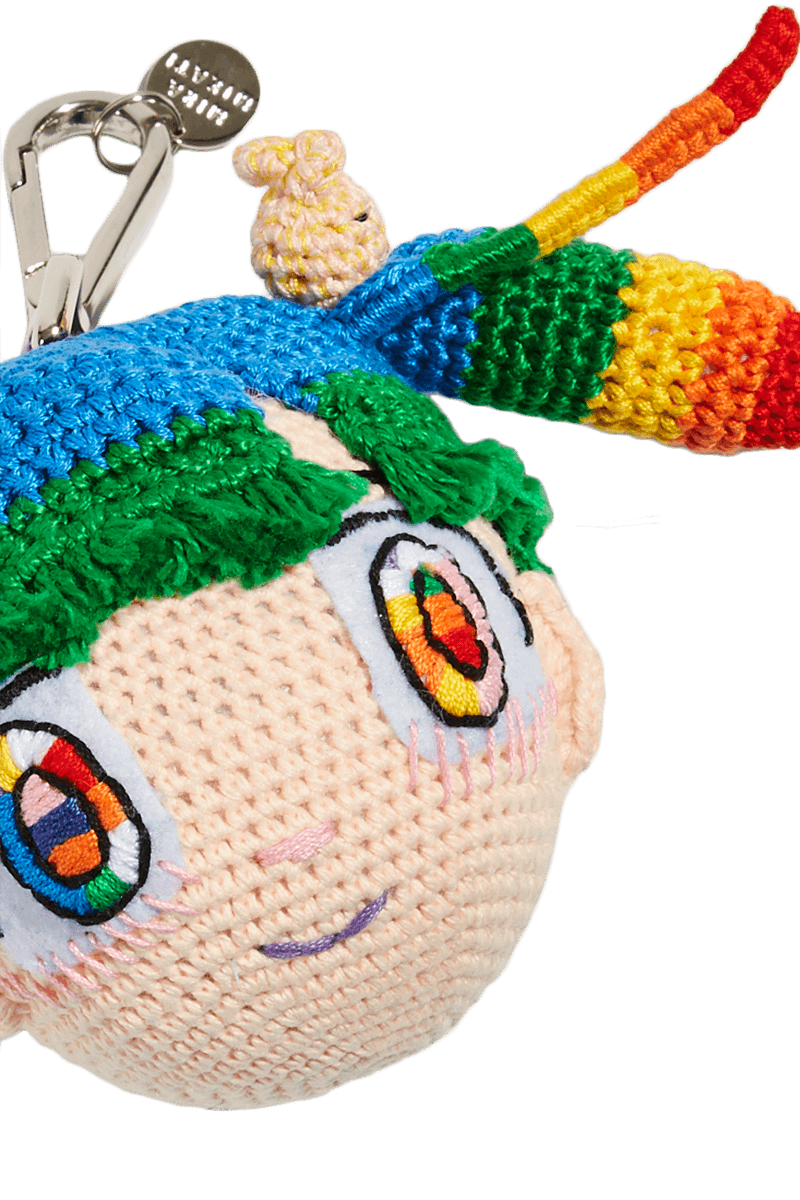 Mr. x Mira Mikati Doll Keyring detail