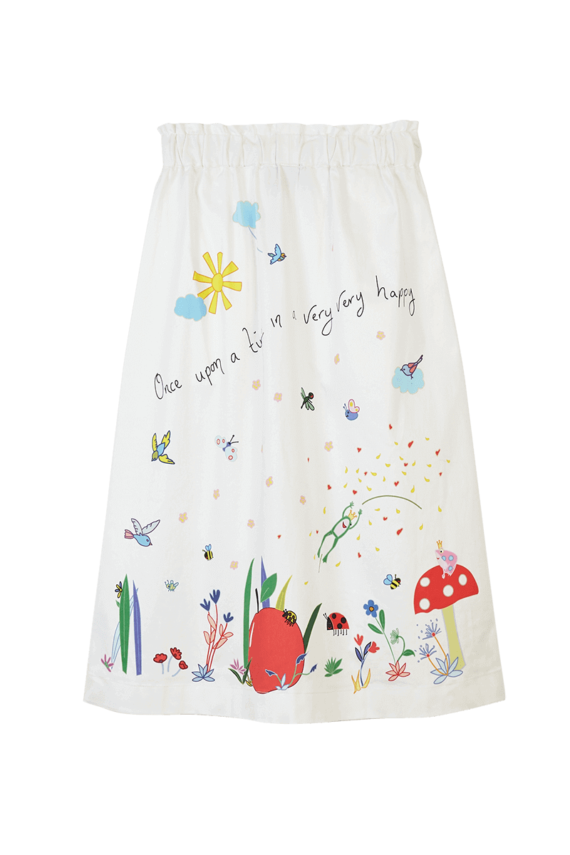 Fairy Tale Printed Skirt