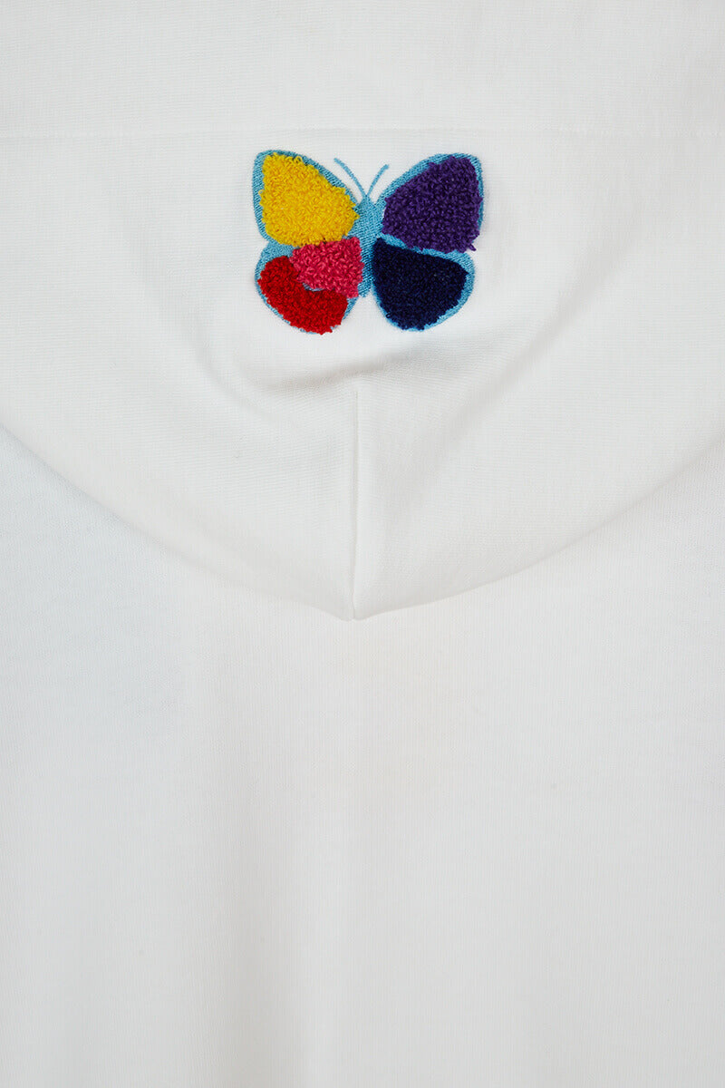 Better Fly Embroidered Hooded Sweatshirt detail
