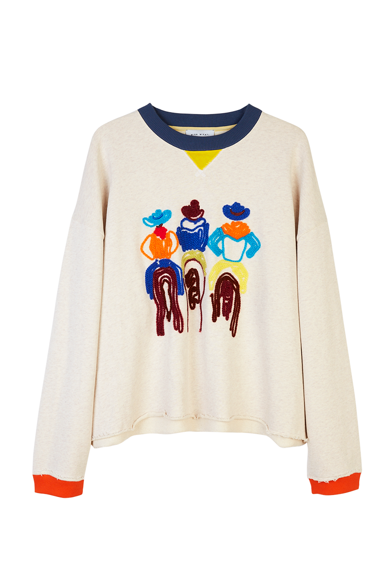 Cowboys Embroidered Sweatshirt