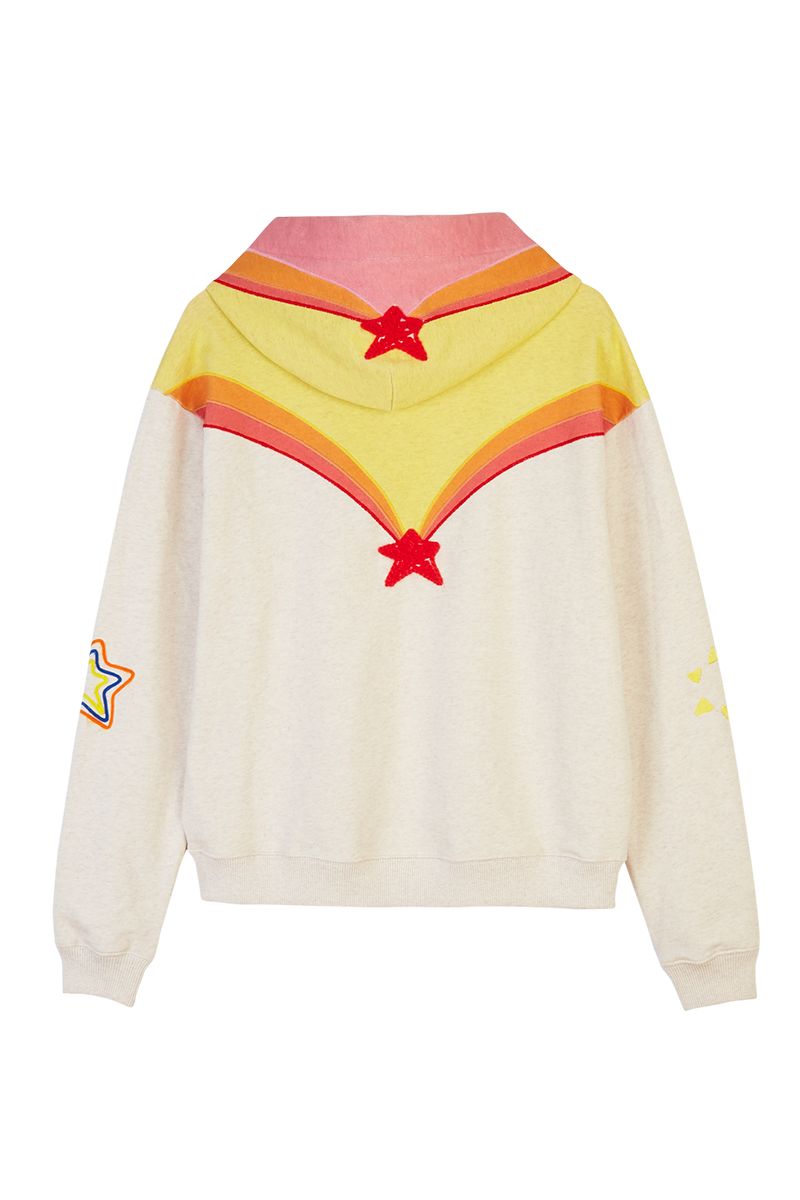 Sheriff Star Embroidered Hoodie