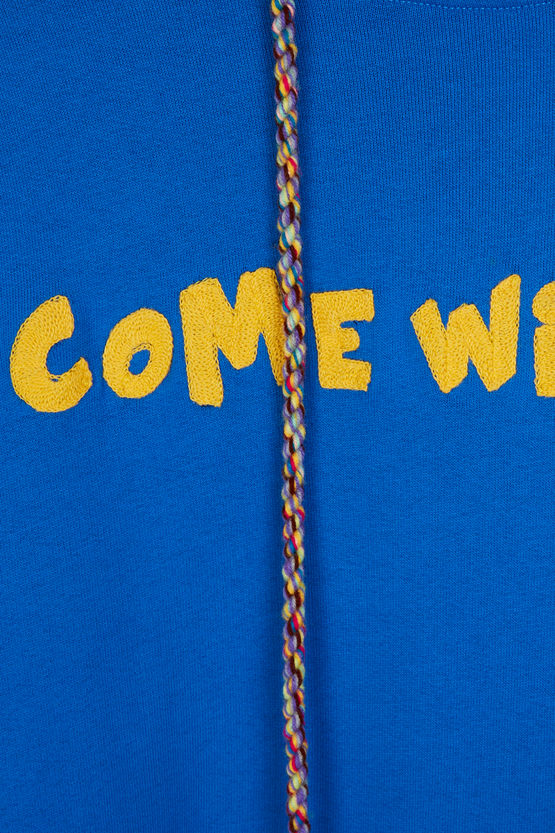 Come With Me Sweatshirt Dress detail