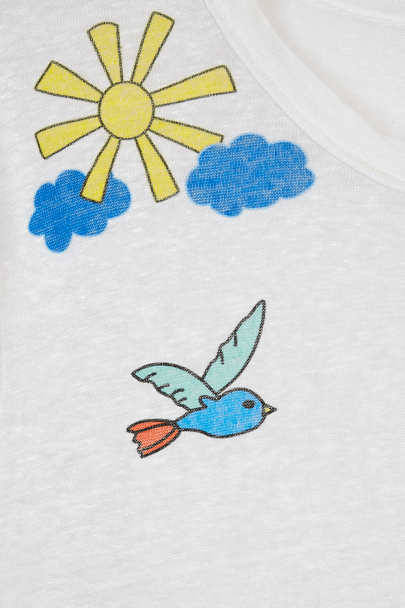 Fairy Tale Print T-Shirt detail