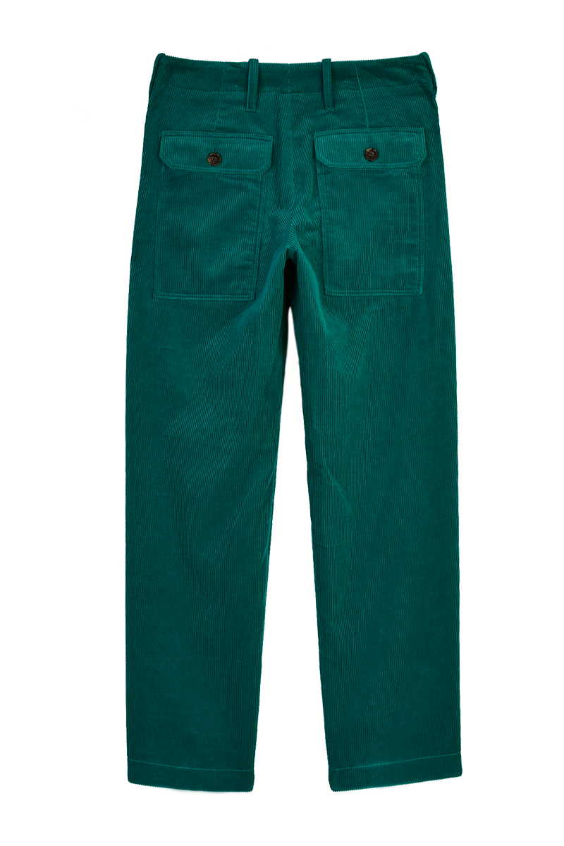 Corduroy Patch Pocket Trousers