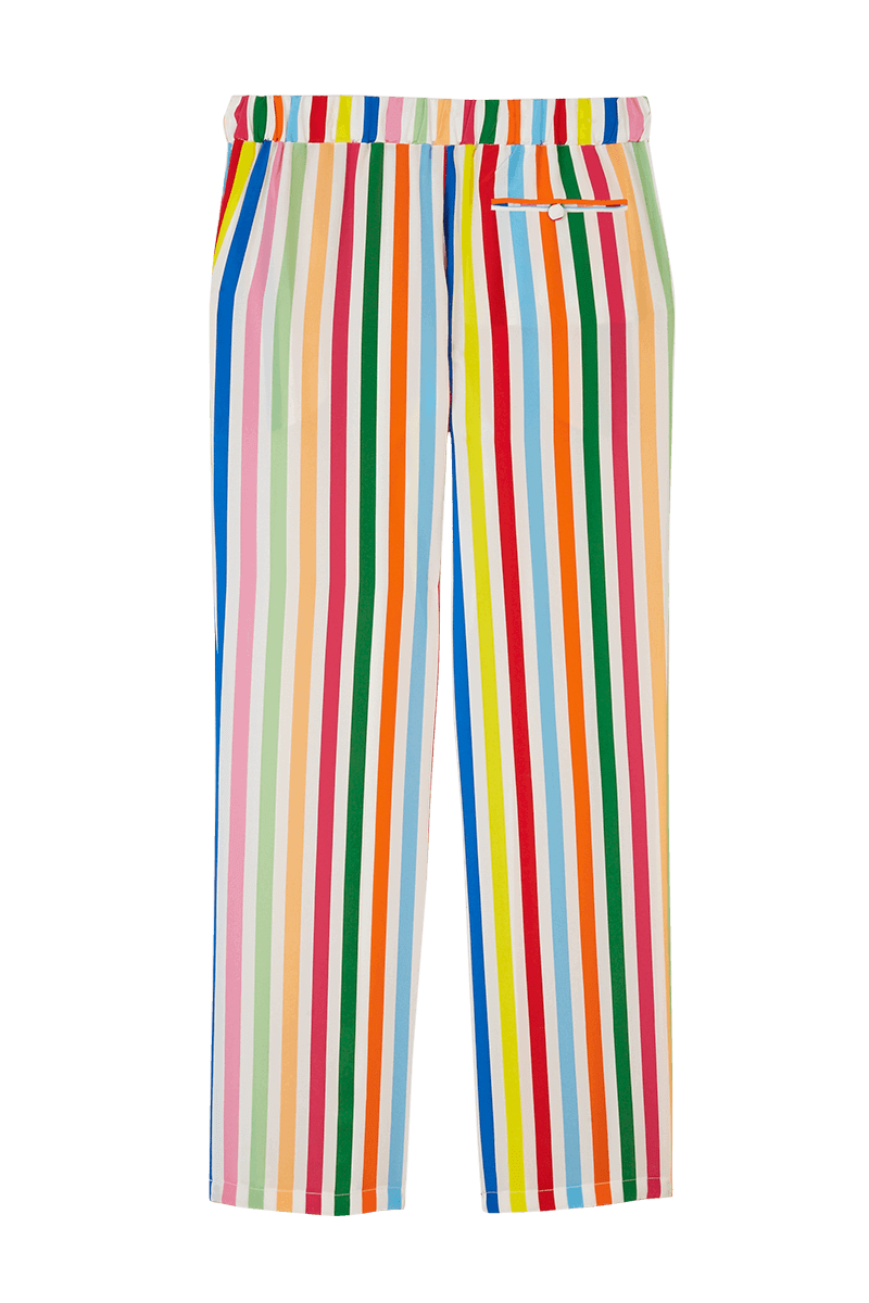 Rainbow Stripe Pyjama Trousers