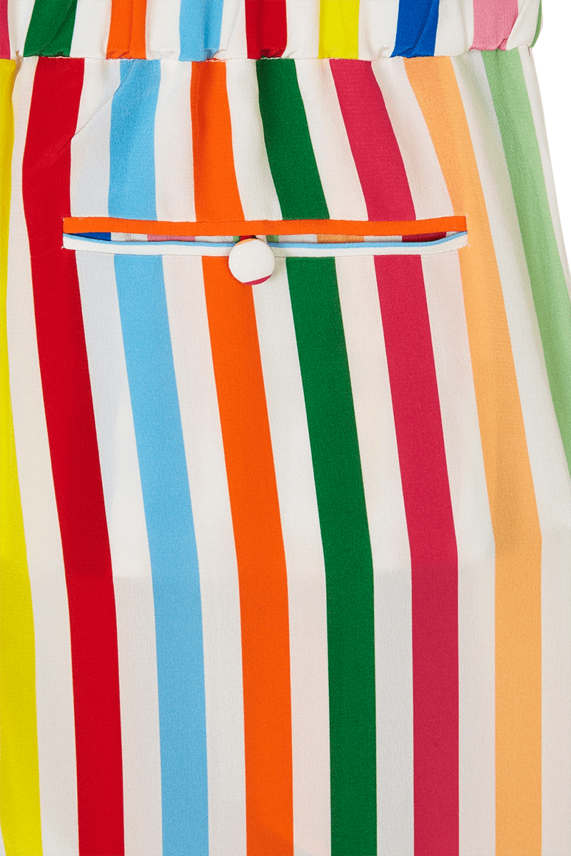 Rainbow Stripe Pyjama Trousers detail
