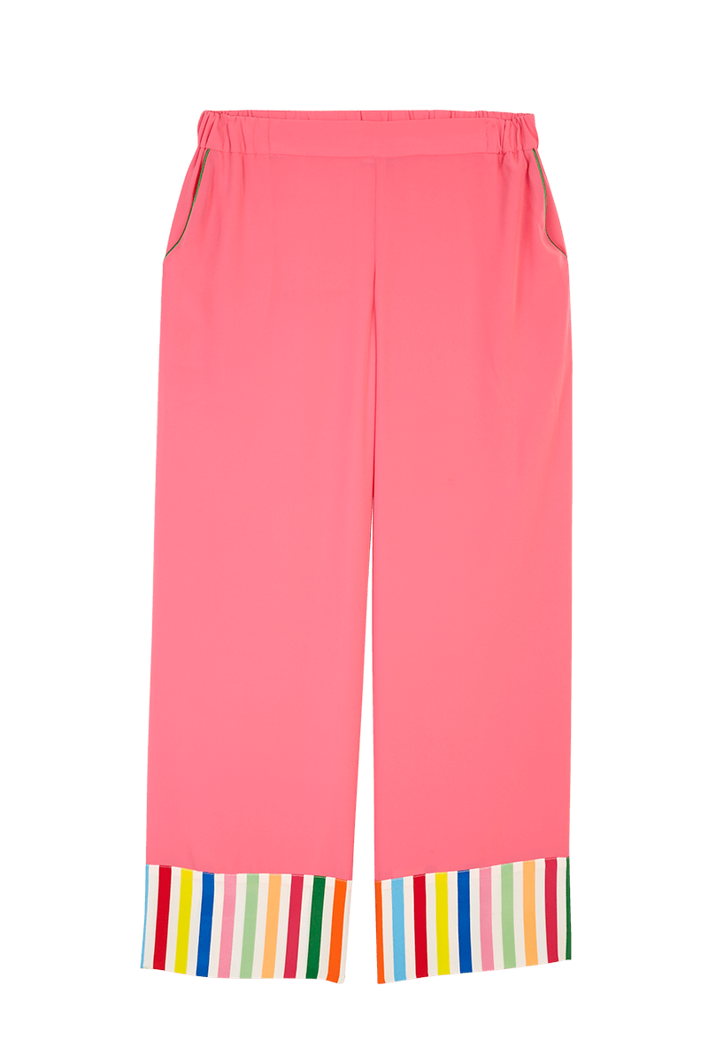 Stripe Cuff Pyjama Trousers