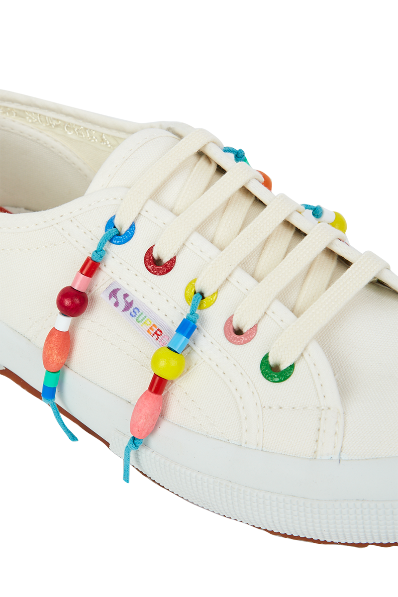 Beaded Fringed Superga
