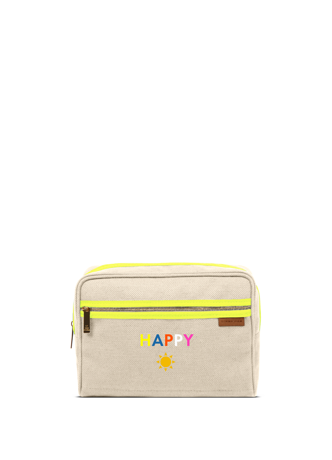 L/Uniform x Mira Mikati Happy Toiletry Bag No.19