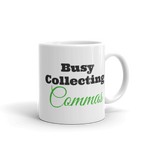 Collecting Commas Mug