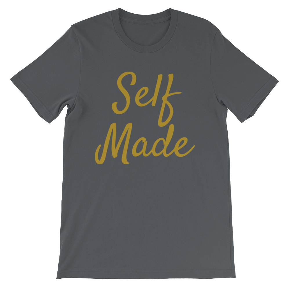 Gold Self-Made Unisex Tee