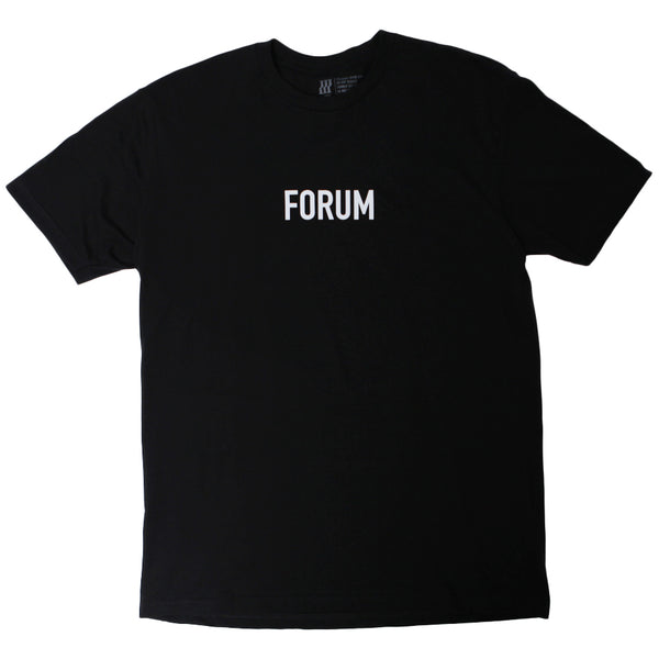 Forum Glitch Tee (Black)