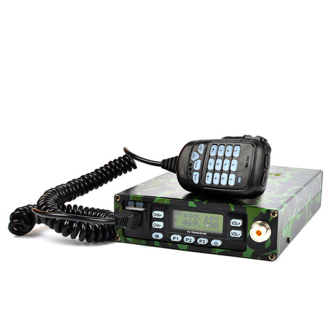 25W Dual Band VHF/UHF 136-174/400-470MHz Backpackable Two Way Radio Mobile Transceiver Amateur Ham Radio with 12000mAh Battery