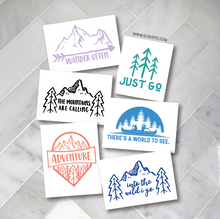Adventure decal travel decal explore decal car decal yeti decal