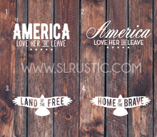 Patriotic decal America decal USA decal car decal yeti decal
