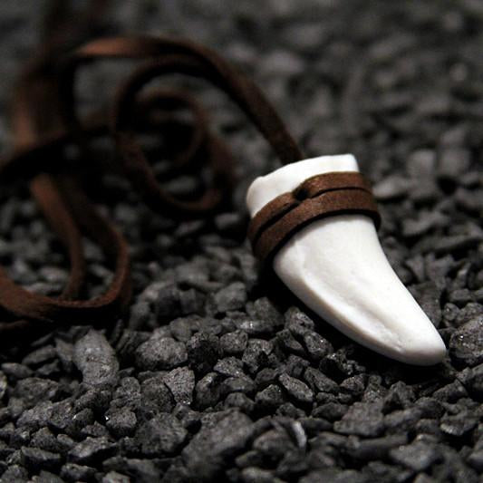Jaguar Tooth Necklace