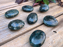 Green Apatite Polished Stone