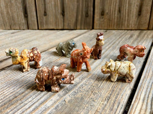 Soapstone Animal Figures