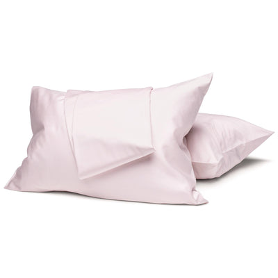 Blush Organic Sheet Set - Square Flower