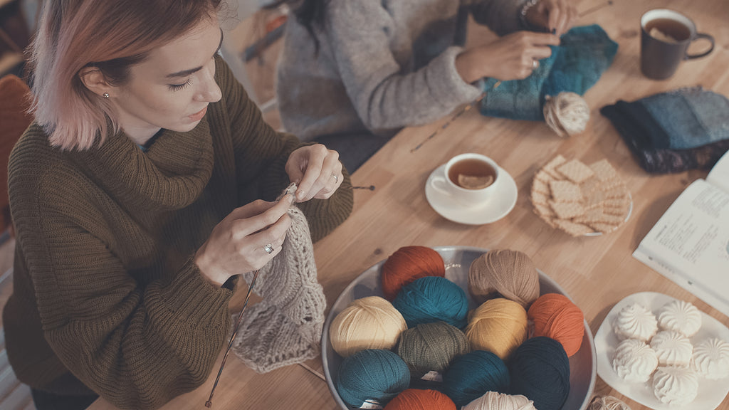 Benefits of joining a knitting circle
