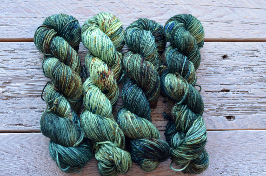 Commune with Nature on 50 gram mini skein