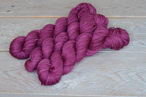 You Had Me at Merlot Basic Sock - 50 gram mini skein
