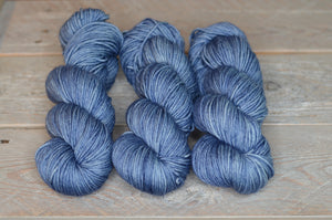Faded Denim on Classic Worsted