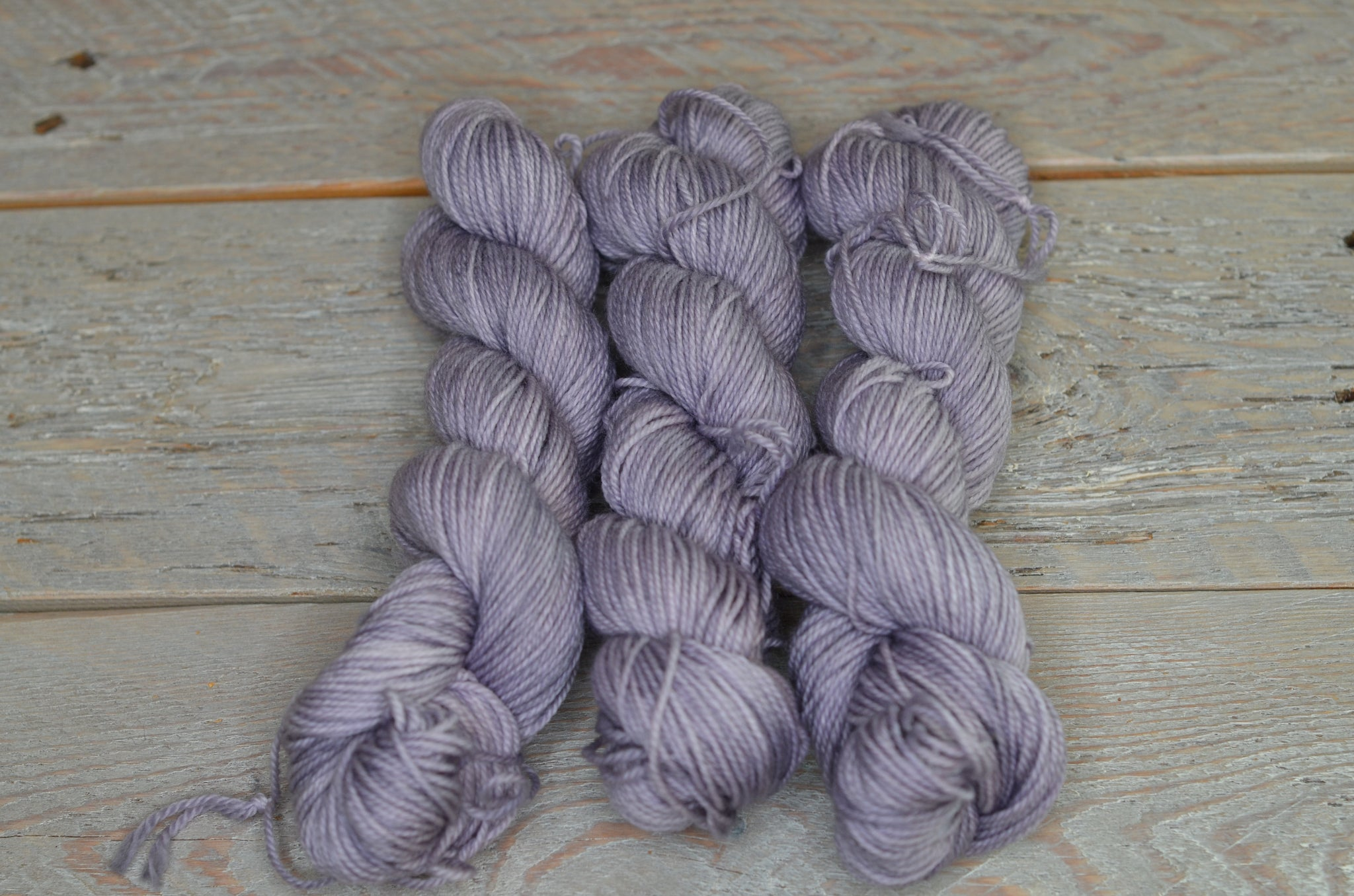 London Fog on 50 gram mini skein Basic Sock