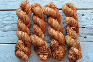 Fistful of Pennies on 50-gram mini skeins