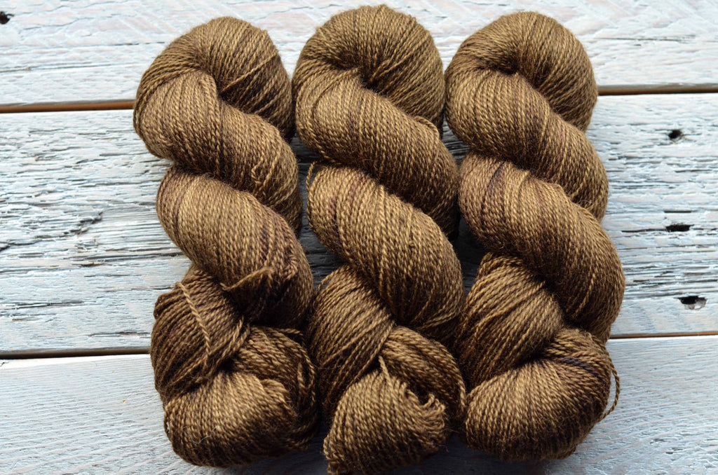 Gardeners Hands on BFL Fingering