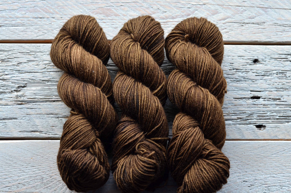 Gardeners Hands on BFL Worsted