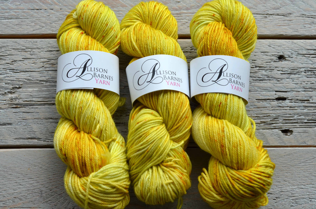 Here Comes the Sun on Classic Worsted