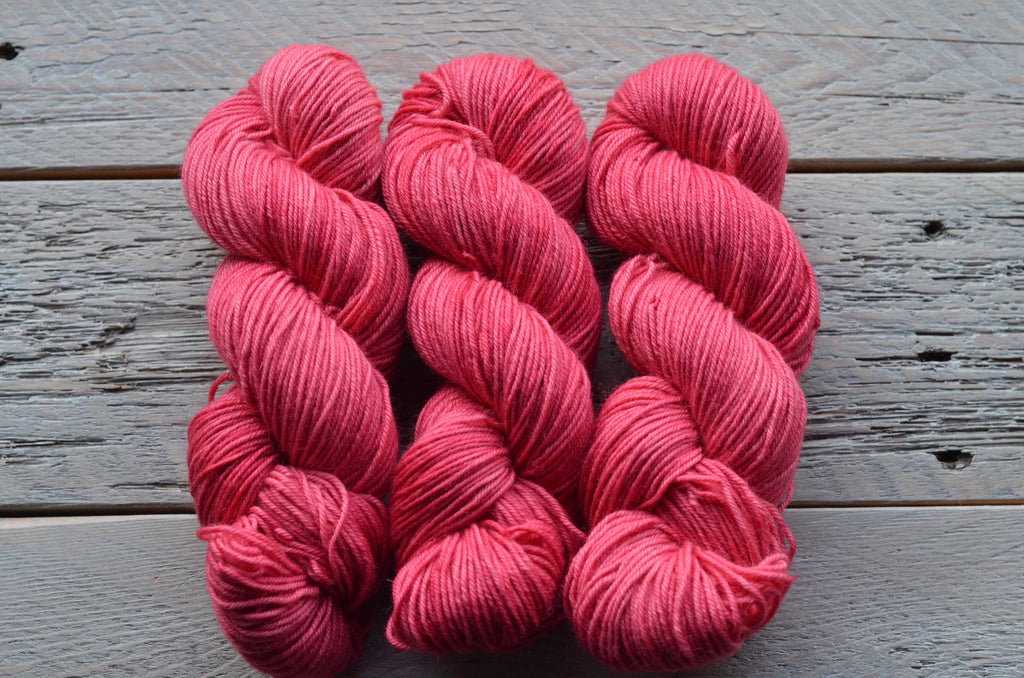 Rosehip on BFL Worsted