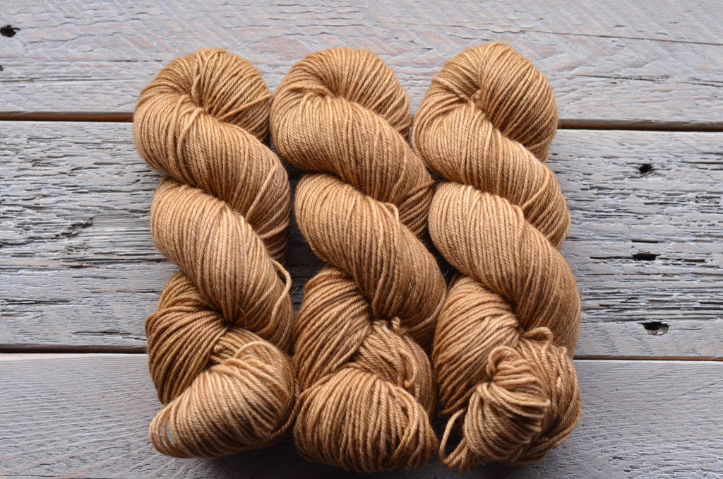 Sand on BFL Worsted