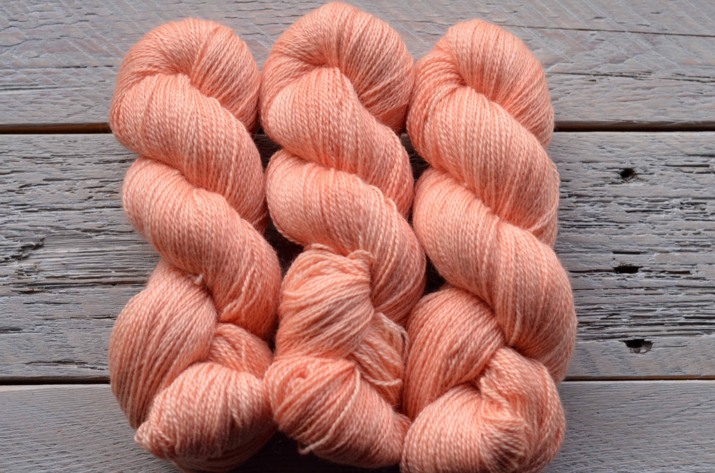 Seashells on BFL Fingering