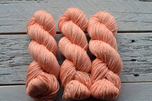 Seashells on BFL Worsted