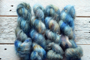 The Mountains are Calling on Mohair-Silk Lace Weight