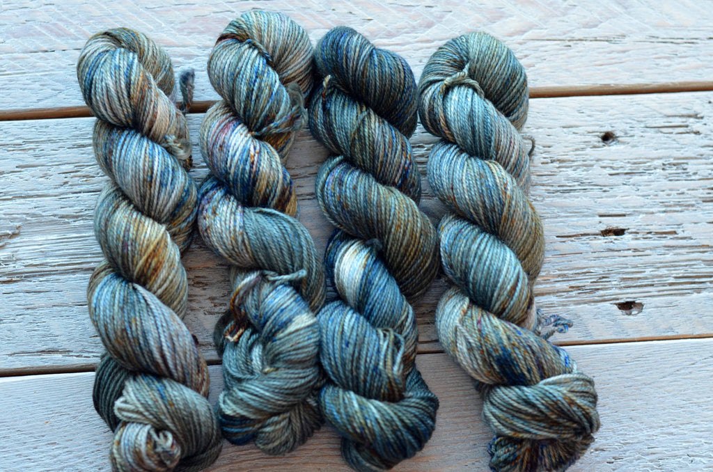 The Mountains are Calling on 50 gram mini skeins
