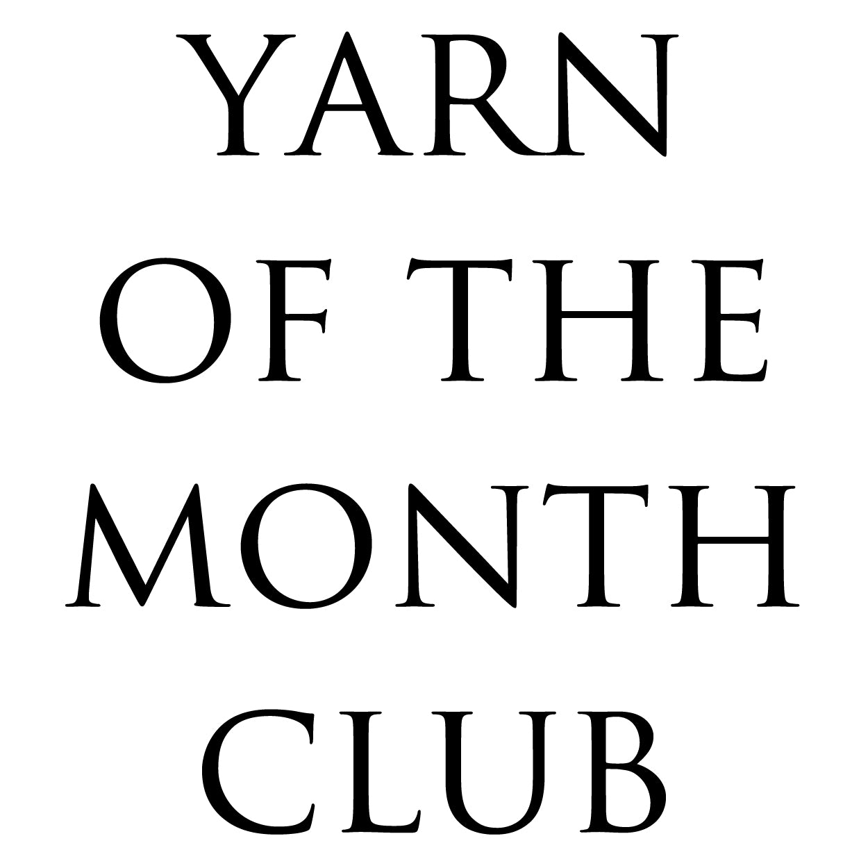 Yarn of the Month - non subscription