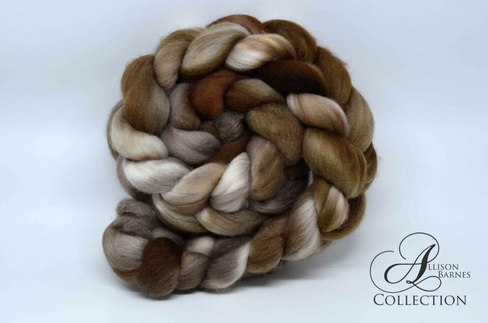 The Fibre Fix! Subscription Box - Spinning Box - 8 ounces of 100% Merino Wool Combed Top