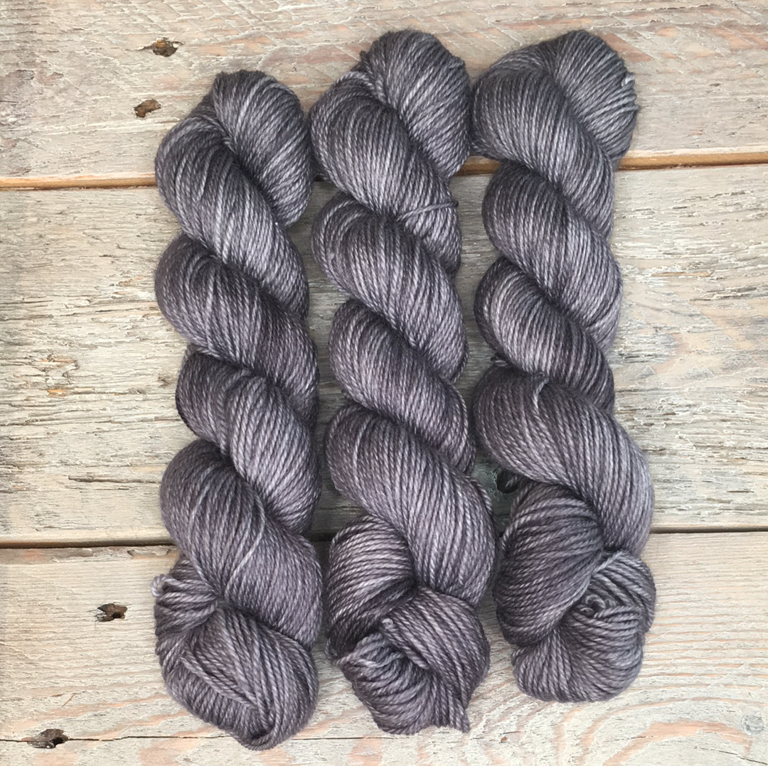 Granite Grey 50-gram mini skeins Basic Sock